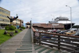 Boardwalk next to Ketchikan Cruise Berth 2