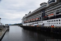Celebrity Millennium Cruise Ship in Ketchikan Alaska