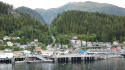 Ketchikan Cruise Dock Berth 4 & Hilly Schoenbar Road