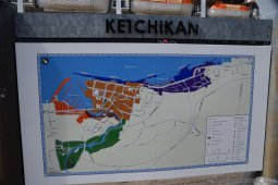Ketchikan Map and Cruise Ship Berths