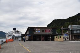 Ketchikan Visitors Center on Berth 3 of Cruise Terminal