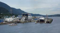Ketchikan Ship Yard at a Distance