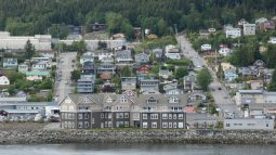 The Point Ketchikan with Madison St in the Background