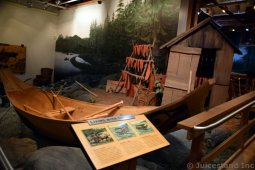 Living with the Sea Exhibit at Ketchikan Tongass National Park Museum