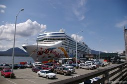 NCL Pearl at Ketchikan as part of Alaskan cruise.jpg